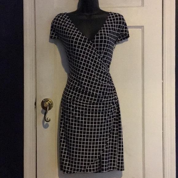 Aa Studio Dresses & Skirts - AA STUDIO Faux Wrap Dress